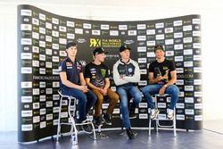 Timmy Hansen, Team Peugeot-Hansen, Peugeot 208 WRX, Andreas Bakkerud, Hoonigan Racing Division, Ford