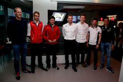 Jörg Bergmeister, Team Falken Motorsport, Nico Müller, Audi Sport Team WRT, Pierre Kaffer, Land Moto