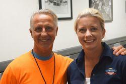 Stefan Oberndorfer und Jennifer Labonte