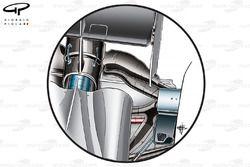 DUPLICATE: McLaren MP4-29 rear suspension blockers (from above)