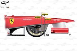 Ferrari F2012 stepped nose