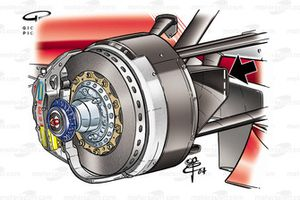 Toyota TF104 2004 Canada brake duct disqualification