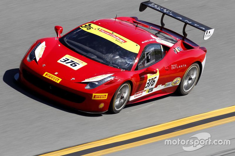 Al Hegyi, Ferrari de San Diego