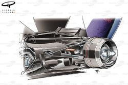 Red Bull RB6 blown diffuser (lowline exhaust detail)