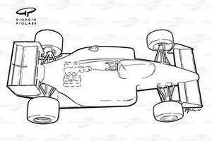 Lotus 99T 1987 outline overview