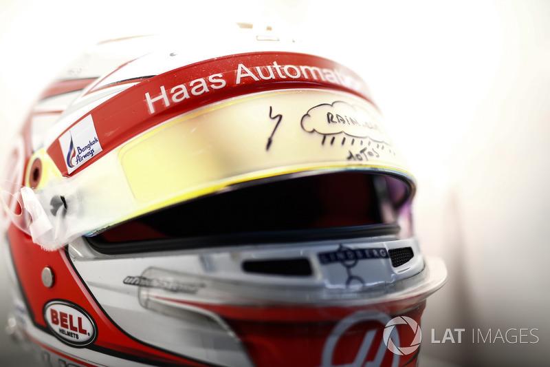 Kask, Kevin Magnussen, Haas F1 Team