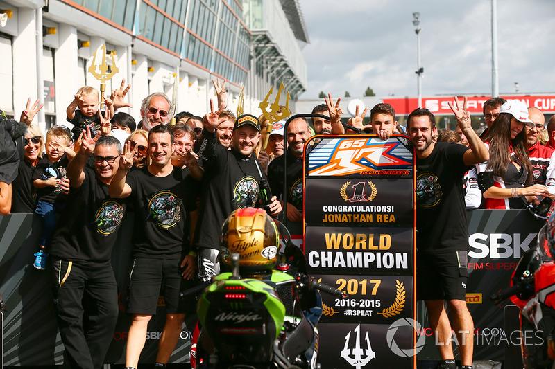 Jonathan Rea, campeón del mundial de superbikes (WorldSBK) 2017