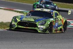 #16 SPS automotive performance, Mercedes AMG GT3: Valentin Pierburg, Tim Muller, Jurgen Krebs