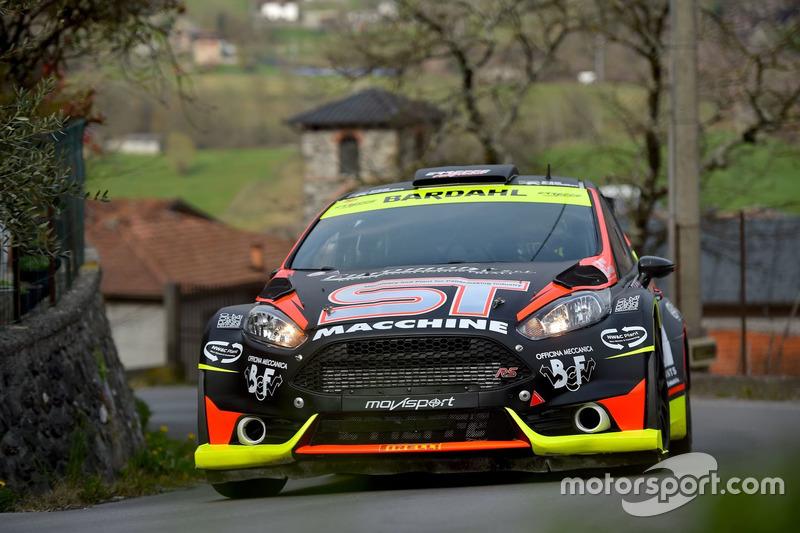 Rudy Michelini, Michele Perna, Ford Fiesta R5, Movisport