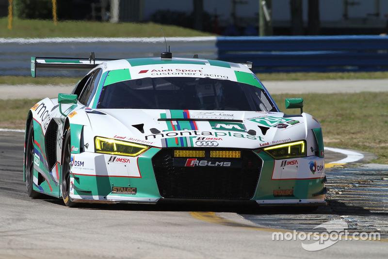 2. GTD: #29 Montaplast by Land-Motorsport, Audi R8 LMS GT3