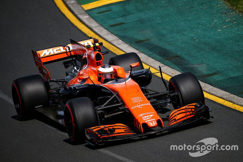 17. Stoffel Vandoorne, McLaren MCL32
