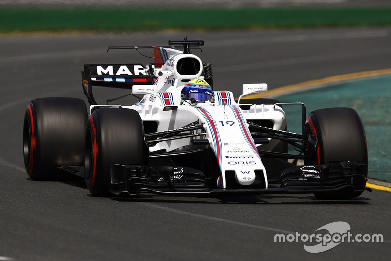 Felipe Massa volta à Williams em boa forma e coloca o FW40 em sétimo. Já Lance Stroll...