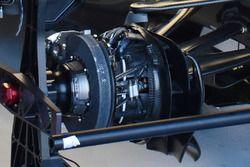 Mercedes AMG F1 W08 detalle de freno delantero