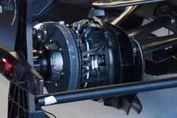 Détails des conduits de freins de la Mercedes AMG F1 W08