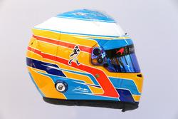Le casque de Fernando Alonso, McLaren