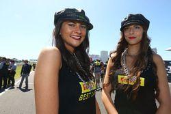 De charmantes Pirelli Girls