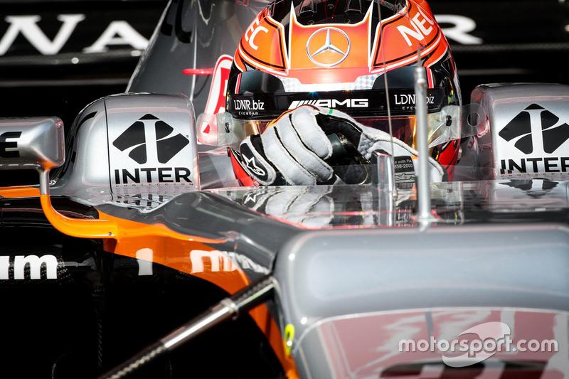 Mardi : Esteban Ocon, Force India