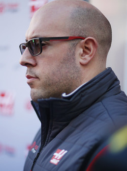 Haas F1 Team, press officer Stuart Morrison