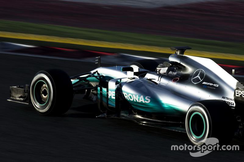 1: Valtteri Bottas, Mercedes AMG F1 W08, 1:19.705, ultrasofts, day 3 (324 laps)