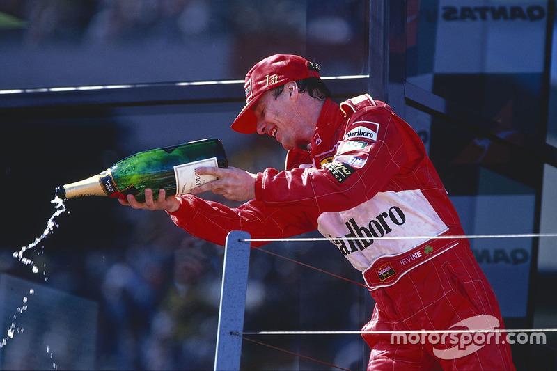 #88 Eddie Irvine, Ferrari
