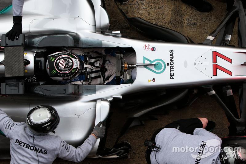 Mercredi : Valtteri Bottas, Mercedes