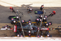 Ромен Грожан, Haas F1 Team VF-17, робить піт-стоп