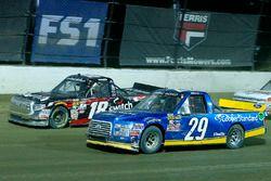 Chase Briscoe, Brad Keselowski Racing Ford and Noah Gragson, Kyle Busch Motorsports Toyota