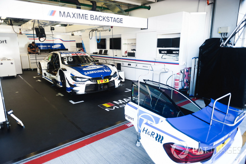 Auto von Maxime Martin, BMW Team RBM, BMW M4 DTM
