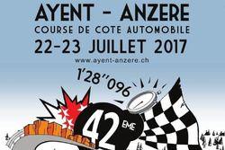 Côte Ayent-Anzère, logo 2017