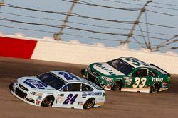 Чейс Эллиотт, Hendrick Motorsports Chevrolet и Джеффри Эрнхардт, The Motorsports Group Chevrolet