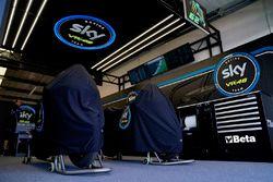 Sky Racing Team VR46 garage atmosphere