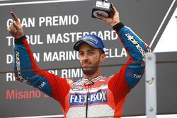 Подиум: обладатель третьего места – Андреа Довициозо, Ducati Team