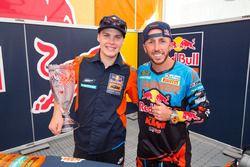 Pauls Jonass en Tony Cairoli, Red Bull KTM Factory Racing