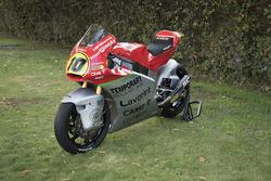 La moto de Luca Marini, Forward Racing