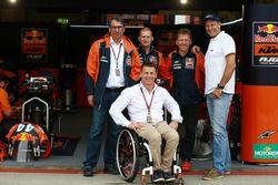 Aki Ajo, Stefan Pierer, Pit Beirer, Mike Leitner, KTM