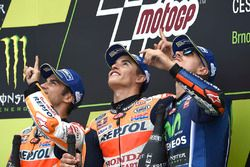 Dani Pedrosa, Repsol Honda Team, Marc Marquez, Repsol Honda Team, Maverick Viñales, Yamaha Factory R