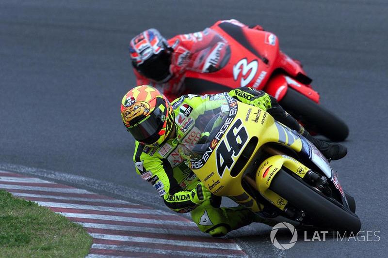 #7 2001 - Valentino Rossi (Honda)