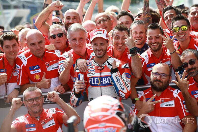 Plus grand nombre de victoires MotoGP : 1
