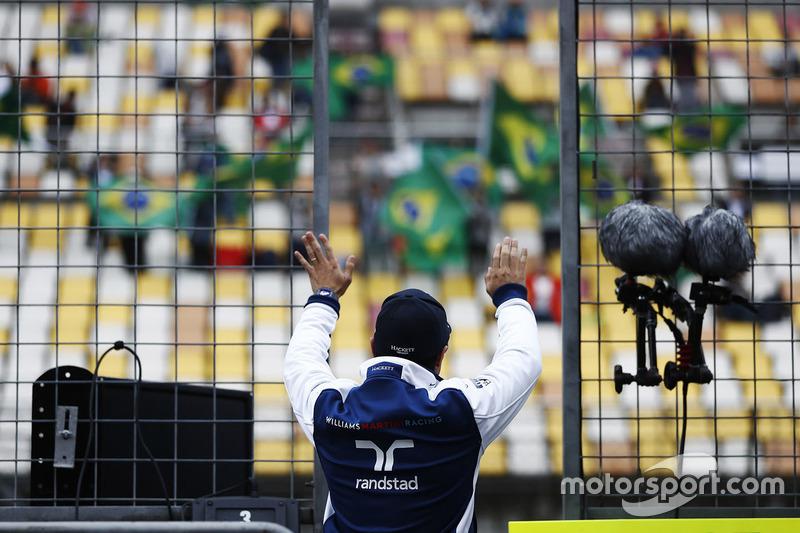 Felipe Massa, Williams, y fans