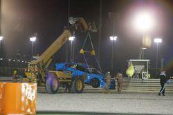 Robert Dahlgren, Polestar Cyan Racing, Volvo S60 Polestar TC1, crash