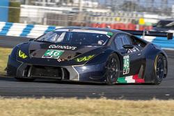 #46 Ebimotors, Lamborghini Huracan GT3: Emanuele Busnelli, Fabio Babini