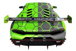 #100 Lamborghini Squadra Corse Lamborghini Huracan Super Trofeo: Andrea Dovizioso