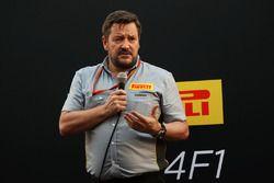 Paul Hembery, director de Pirelli Motorsport