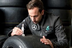 Фабьен Шенон, шинный инженер Mercedes-AMG Motorsport DTM