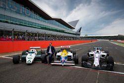 Pastor Maldonado, a Williams FW08, FW11 y el Williams FW40