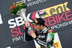 Loris Baz, Kawasaki Racing, yarış galibi Silverstone, 2012