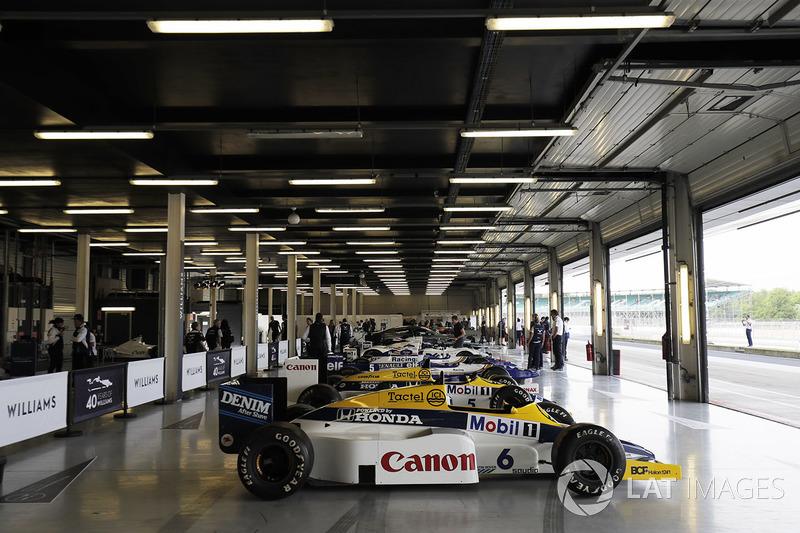 Reihe von Williams-Autos