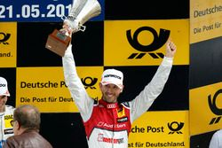 Podio: tercer lugar René Rast, Audi Sport Team Rosberg, Audi RS 5 DTM