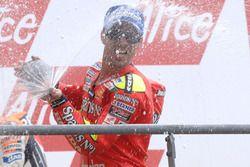 Podium: Marco Melandri, Fortuna Honda