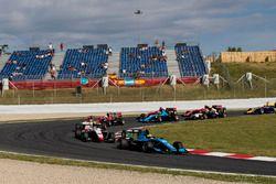 Arjun Maini, Jenzer Motorsport y Dorian Boccolacci, Trident